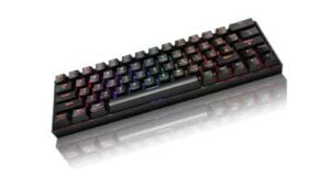 Keyboard with RGB Backlight
