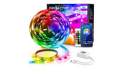 Bluetooth Color Changing LED Strip Lights