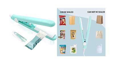 Mini Sealer Handheld Bag Sealer for Food Storage
