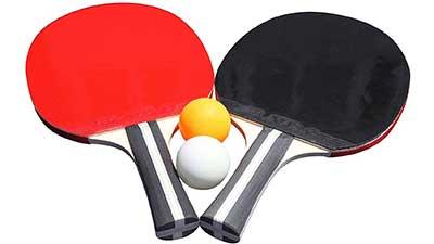 Table Tennis 2-Player Racket and Ball Set