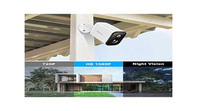 Waterproof Wireless Surveillance Camera