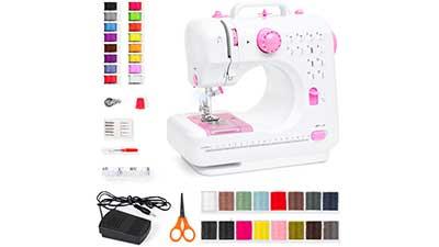 6V Compact Sewing Crafting Machine 12 Stitch Patterns