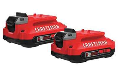 CRAFTSMAN V20 Lithium Ion Battery