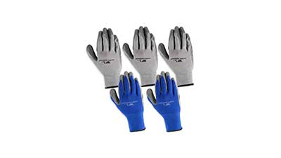 Wells Lamont Mens Nitrile Glove 5 Pack