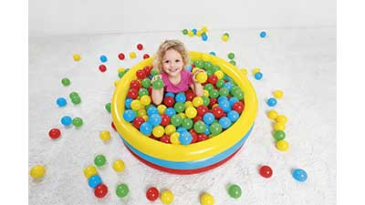 Fisher Price 2.5inch Multi-Colored Play Balls