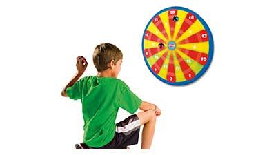 Kids Hook-and-Loop Ball Target Game