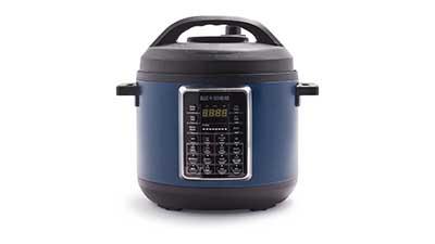 6QT Blue Diamond Weekday Wonder Pressure Cooker