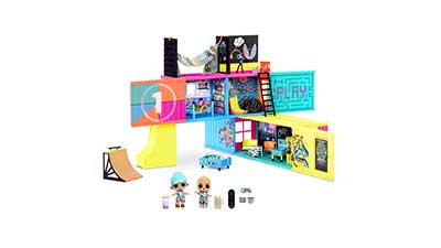 Clubhouse Playset with 40+ Surprises and 2 Dolls