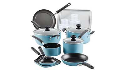 Farberware 20 Pc Aluminum Nonstick Cookware