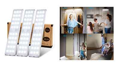 30 LED Super Bright Wireless Closet Lights