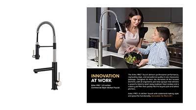 KRAUS Artec Pro Kitchen Faucet with Spring Spout
