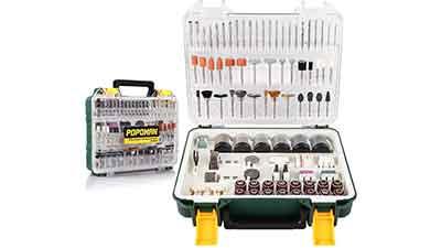 POPOMAN Rotary Tool Accessories Kit