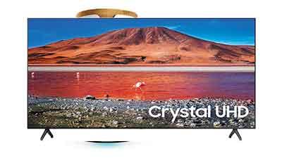 SAMSUNG 82-inch UHD HDR Smart TV UN82TU6950FXZA