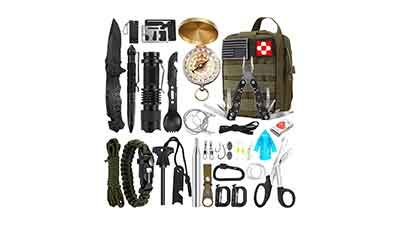 32 in 1 Professional Emergency Survival Kit