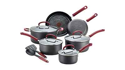 T-fal Hard Anodized Nonstick Cookware Set