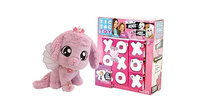 Tic Tac Toy XOXO Hugs Plush purple color