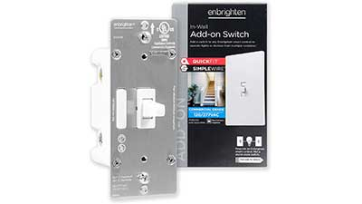 Add-On Switch QuickFit and SimpleWire