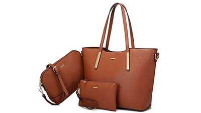 LOVEVOOK Handbags for Women 3pcs Set