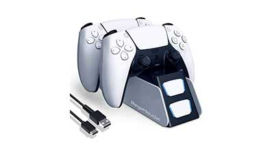 RegeMoudal Charger Station for PS5 Controller