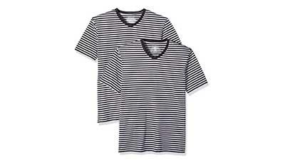 Amazon Essentials Mens Slim-fit V-Neck T-Shirts