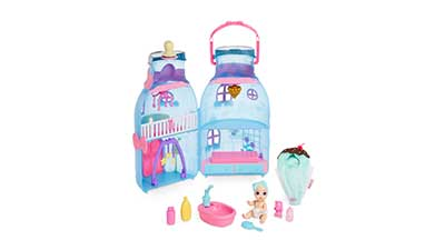 Baby Bottle House with 20plus Surprises