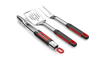 Soft Grip 3 Piece Barbecue Grill Tool Set