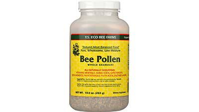 Bee Pollen Low Moisture Whole Granulars 10 oz