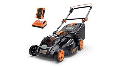 Cordless Lawn Mower 40V Max 4 Ah Battery