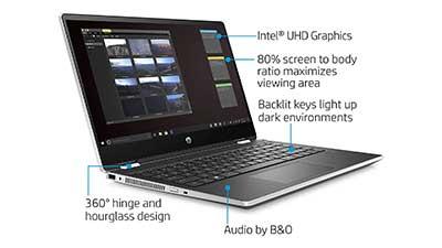 HP Pavilion x360 14 2-in-1 Laptop