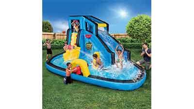 Banzai Battle Blast Inflatable Water Park