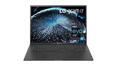 LG Gram 17Z90P 17 inch WQXGA UltraLight Laptop