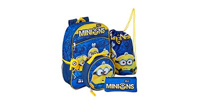 Minions Backpack 5-Piece Set