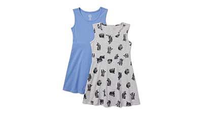 Wonder Nation Girls Sleeveless Play Dress