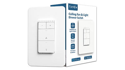 Smart Ceiling Fan Control and Dimmer Light Switch