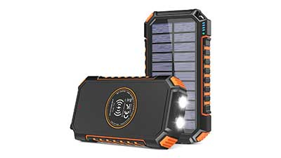 Solar Charger 26800mAh Power Bank