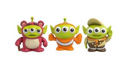 Pixar Alien Remix Lotso Nemo and Russell