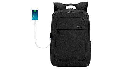 Lightweight Laptop Backpack USB Port 15.6 Inch