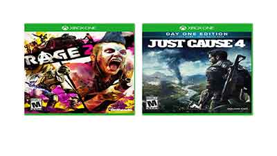 Just Cause 4 and Rage 2 Game Bundle Xbox One