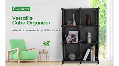 storage organizer cubes