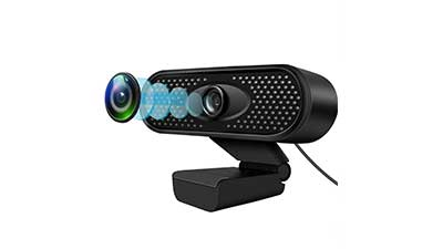 1080P HD USB Webcam with Microphone