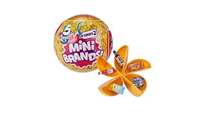 5 Surprise Mini Brands Mystery Capsule
