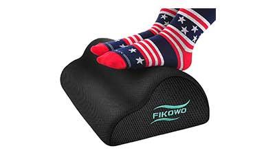 Fikowo Foot Rest Under Desk with Ergonomic Height