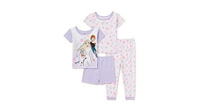 Frozen 2 Toddler Girls Snug Fit Cotton Pajama Set