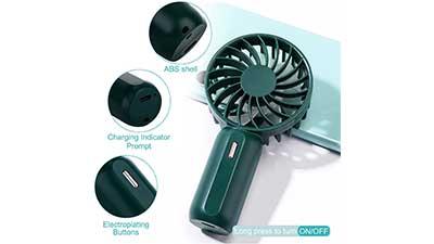 Volkcam Handheld Mini Fan Battery Operated