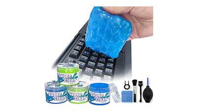 Dust Cleaning Gel with 5 Keyboard Cleaning Kit