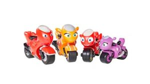 Motorcycle Toy Action Figures