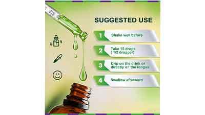 Natural Deodorant Chlorophyll Liquid Drops