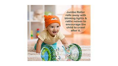 Splashin kids Infant Jumbo Roller Rattle Toys