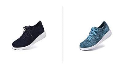 JIUMUJIPU Womens Walking Sneaker Slip-on