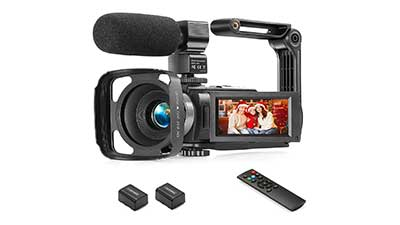 Touch Screen Camcorder 1080P Video Camera